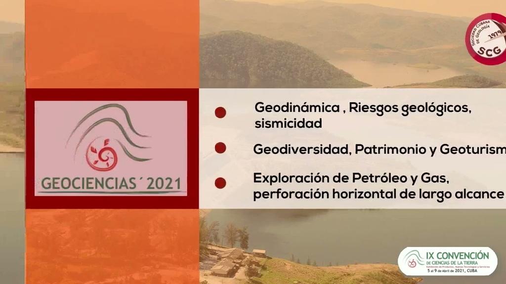 Geociencias: Clausuran hoy la IX Convención de Ciencias de la Tierra