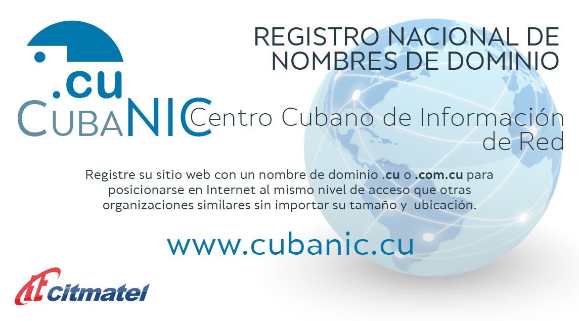 Banner sitio CUBANIC
