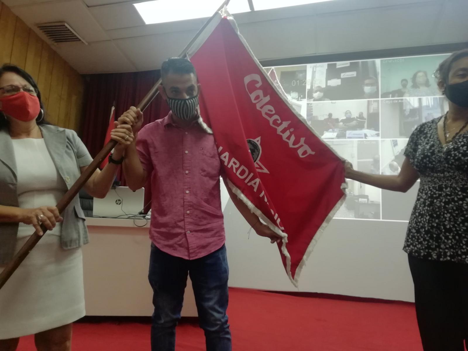 Recibe Citmatel la condición de Colectivo Vanguardia Nacional