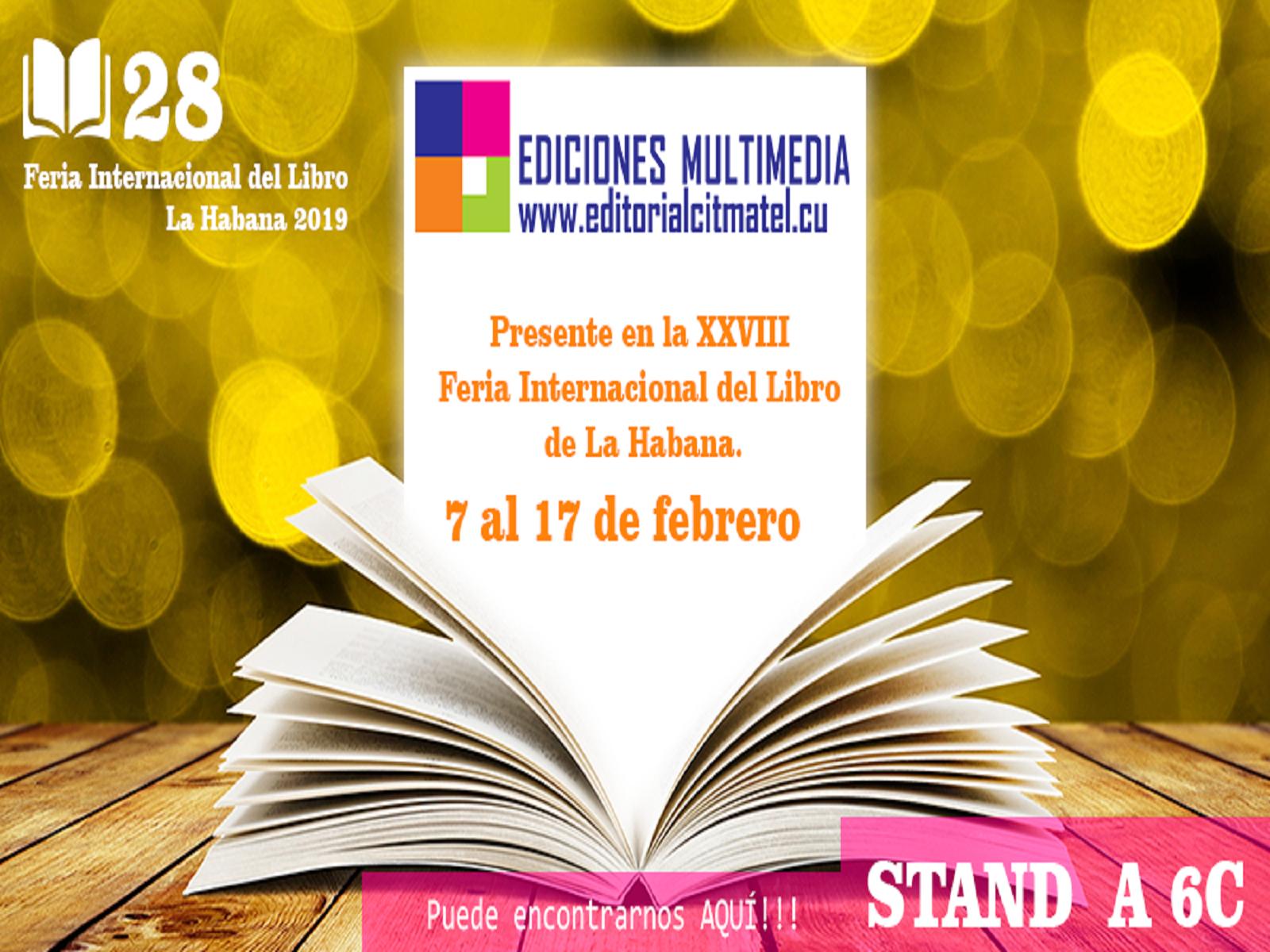 Editorial Citmatel en Feria del Libro del La Habana 2019