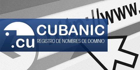 Registro de nombres de dominio, CUBANIC