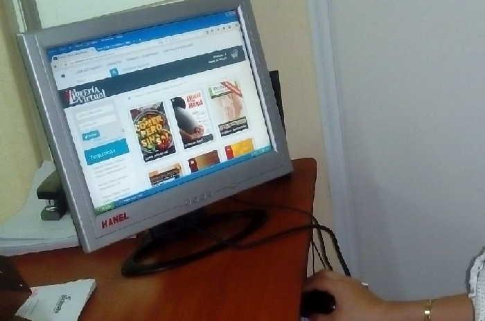 Citmatel es una de las empresas que en Sancti Spíritus ofertan el comercio electrónico. (Foto: Yanela Pérez / Escambray)