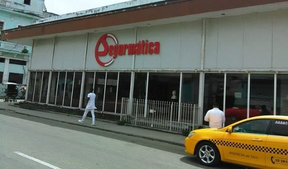 Sede central de Segurmática en La Habana.Foto: ACN