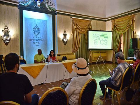 Del 25 al 27 próximos, La Habana capital de la comunicación social / Fotos: Omara García Mederos