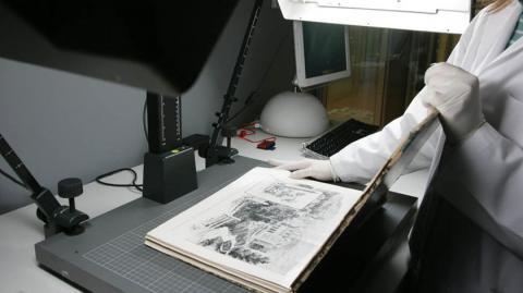 Avanza la digitalización en red de archivos históricos