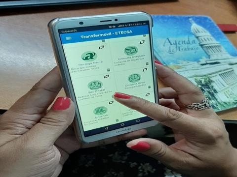 Servicio de Giros Nacionales a través de dispositivos móviles