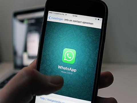 WhatsApp es una de las aplicaciones de mensajería más utilizadas en el mundo, ya reúne a 1.500 millones de usuarios según un estudio de We Are Social (Pexels)