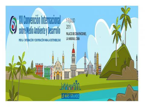 Cartel de la Convención Internacional sobre Medio Ambiente y Desarrollo