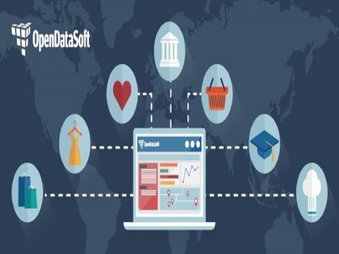 Ejemplos de datos abiertos en el mundo real, casos de uso y su impacto. (Foto: Tomada de opendatasoft.es).