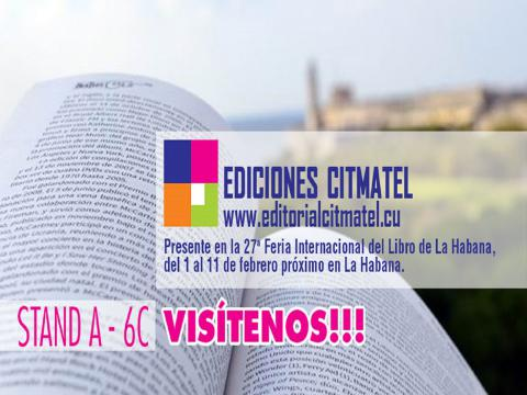Editorial Citmatel en FILCuba 2018