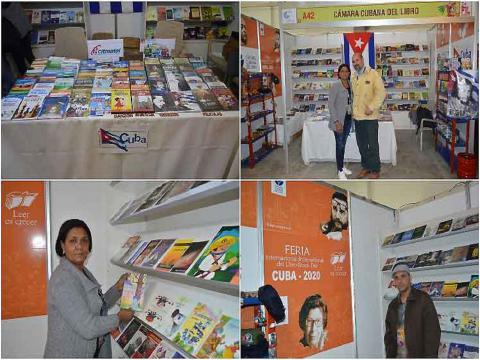 Cuba participa en la Feria del Libro de La Paz, Bolivia