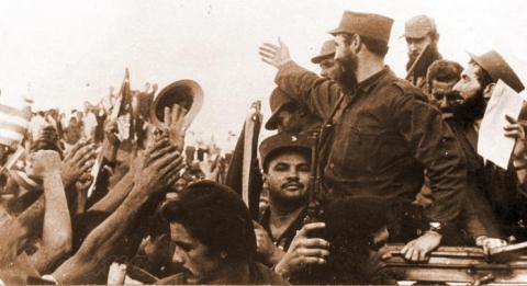 Fidel y la Caravana de la Libertad