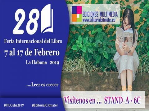 Citmatel en la Feria del Libro de La Habana 2019