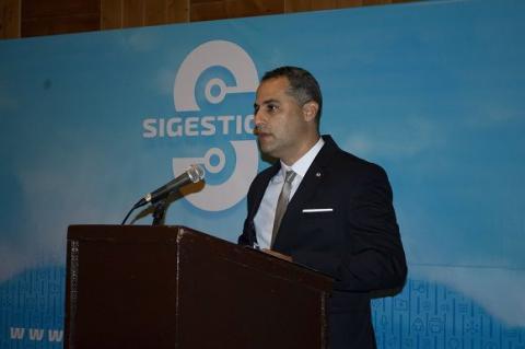 El Ing. Raúl de la Nuez Morales, Director General de la ETI llamó a los participantes a protagonizar debates de calidad. Foto: Adriana Tomey/ETI.