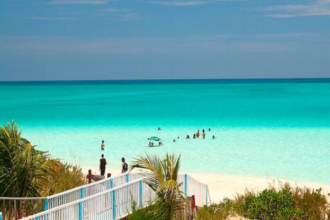 Playas en cayería norte de Cuba