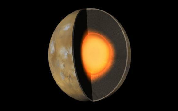 El núcleo de Marte es más grande y menos denso de lo pensado
