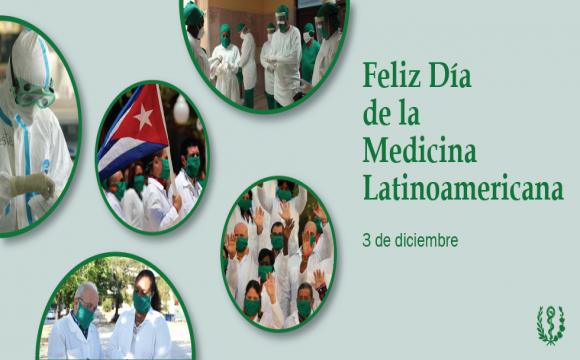Carta de felicitación del Ministro de Salud Pública a los trabajadores de la salud en el Día de la Medicina Latinoamericana