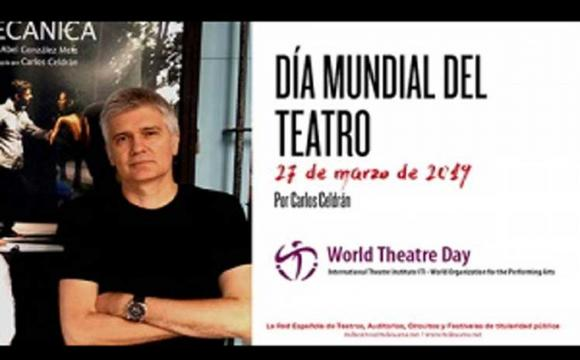 Cubano emitirá palabras centrales por Día Internacional del Teatro