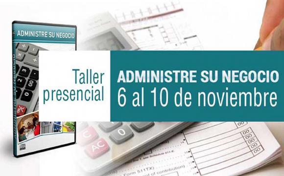 Taller Presencial Administre su negocio.