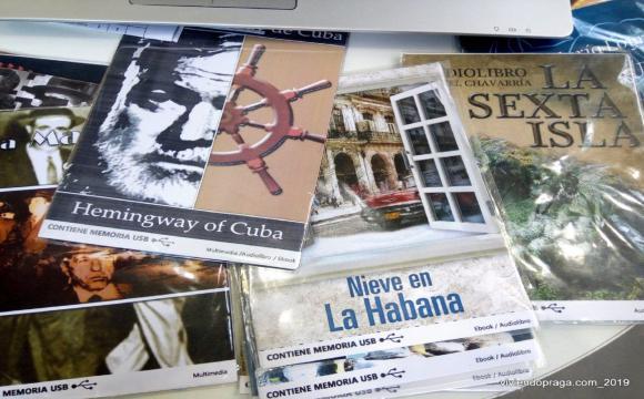 .. las publicaciones de Cuba sorprenden por que vienen en formato electrónico, multimedias y con USB
