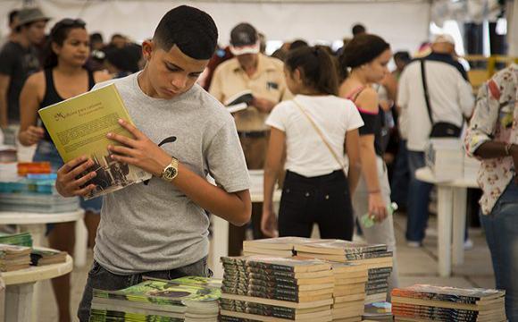 29 edición de la Feria Internacional del Libro. Foto: Irene Pérez/ Cubadebate.