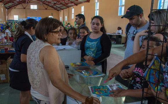 Un recinto para crecer con la lectura / Fotos: Leandro Pérez Pérez/Adelante