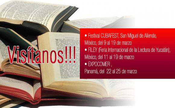 Editorial CITMATEL presente en las Ferias Internacionales del Libro en México y Panamá