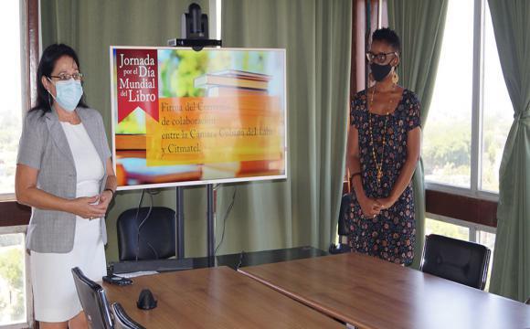 Firman convenio de colaboración la Cámara Cubana del Libro y Citmatel