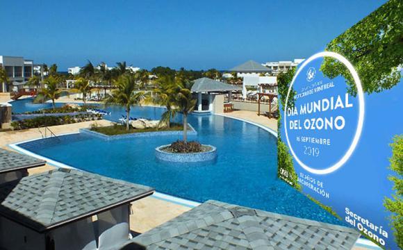 El hotel Iberoestar Holgiuín recibirá el Premio Nacional Libre de Sustancias Agotadoras de la Capa de Ozono. Foto: Radio Angulo