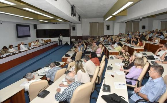 Destaca Díaz-Canel potencial científico de Cuba Foto: Estudios Revolución.