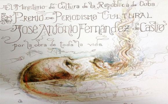 """Otorgado Premio de Periodismo Cultural """"José Antonio Fernández de Castro"""" 2019"""