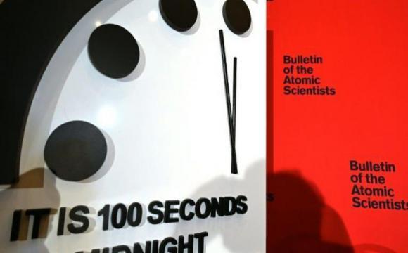 El reloj del apocalipsis se mantiene cerca de la medianoche