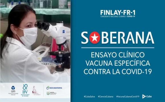 Soberana, candidato anti SARS-CoV- 2