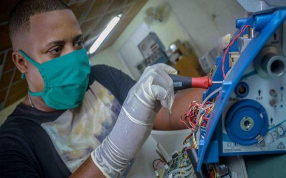 Cuba desarrolla ventiladores pulmonares