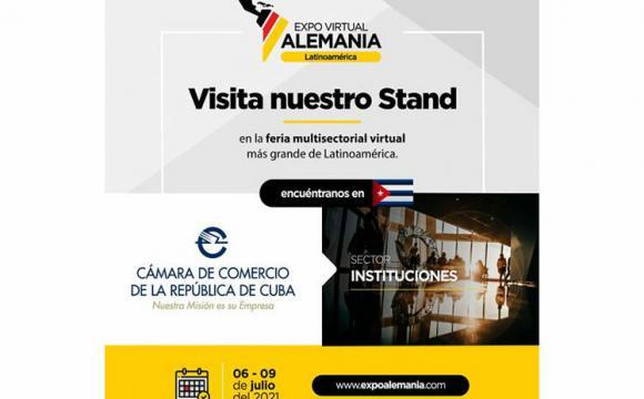 Empresas de Cuba participarán en Expo Alemania-Latinoamérica 2021