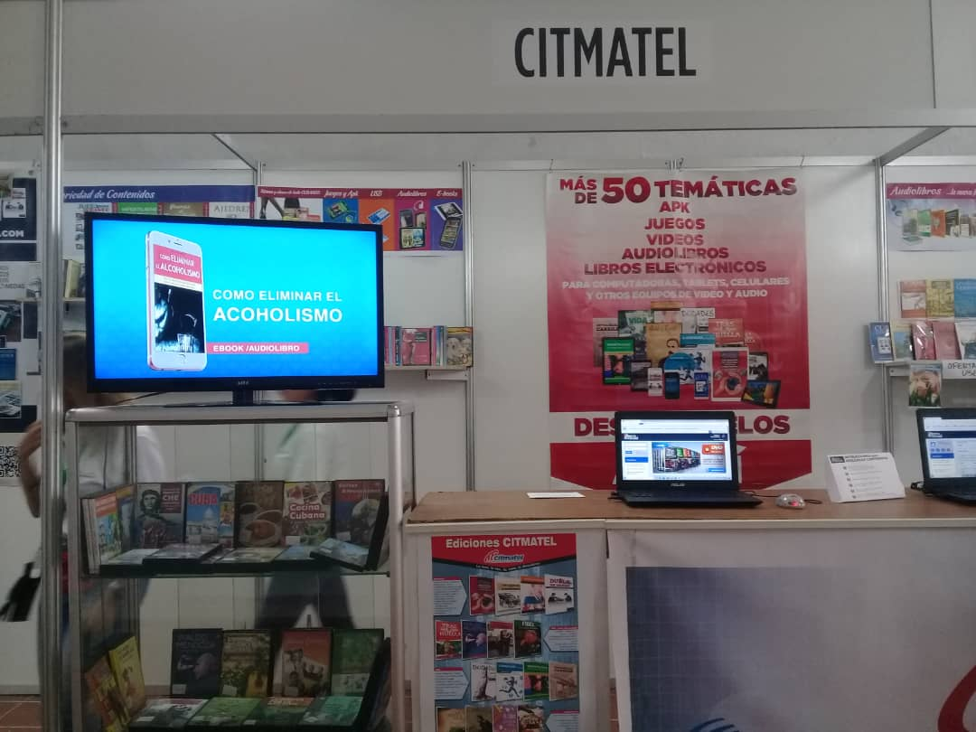 Citmatel en FILCuba 2020